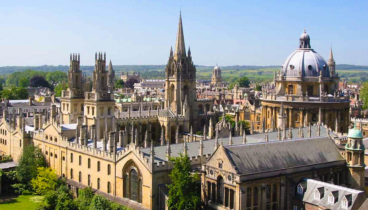 Oxford University Walking tours